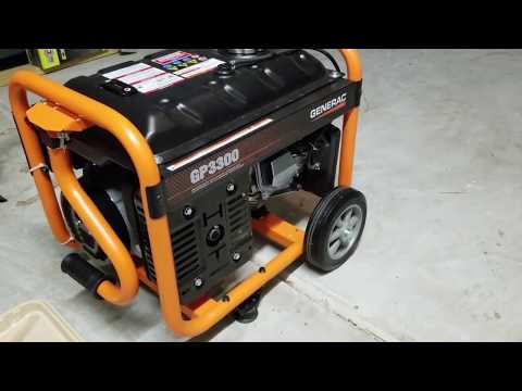 Generac Generator Review GP3300
