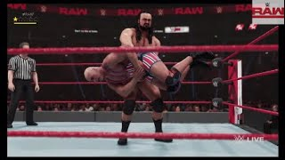 Drew McIntyre vs. Kurt Angle | WWE RAW: November 5, 2018
