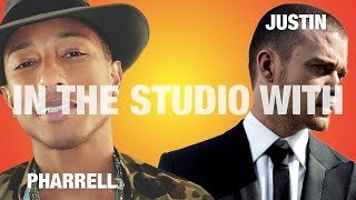 "PHARRELL & JUSTIN RECORDING ""LET'S TAKE A RIDE"""
