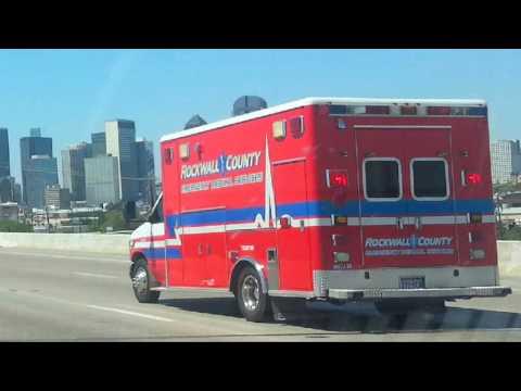 Rockwall County EMS on KEXB