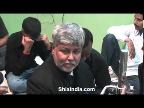 Jis Dam Nageen e Khatam e Paighambara gira (Sab tham gaye magar na thama) by Qaiser Marsiya khan