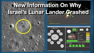 New Details On Israel's Failed Lunar Lander