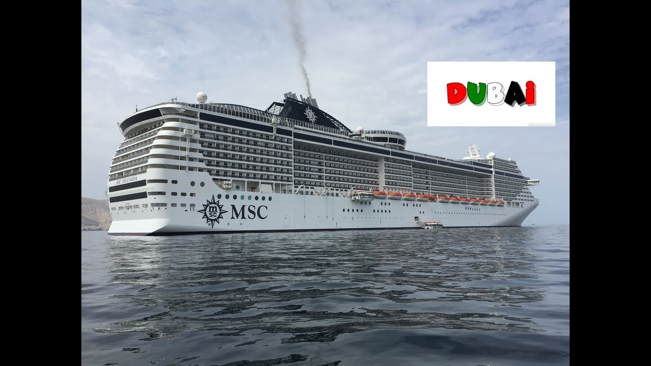 37+ Msc Splendida Dubai To Genoa  PNG