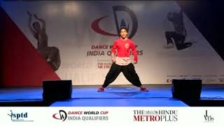 Dance World Cup 2018 | Hip Hop Senior Solo | Swapnanil Bhadra | Neel Rudraksh