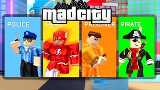 NEW PIRATE TEAM IN ROBLOX MAD CITY!!