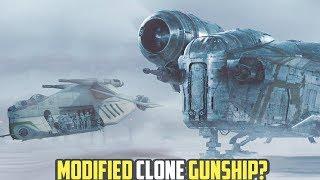Is the Razor Crest A Modified Clone Wars Dropship?