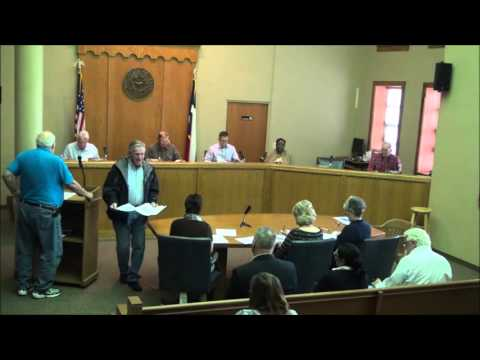 Titus County Texas Commissioners' Court Special Meeting held March 7, 2016