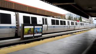 BART Walnut Creek Station California Bay Area Rapid Transit