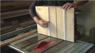 Home Remodeling Tools : How To Use A Cross-cut Sled On The Table Saw