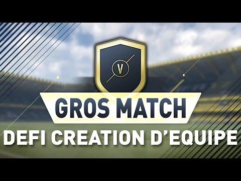 DÉFIS CREATION D'ÉQUIPES | GROS MATCHS ✅