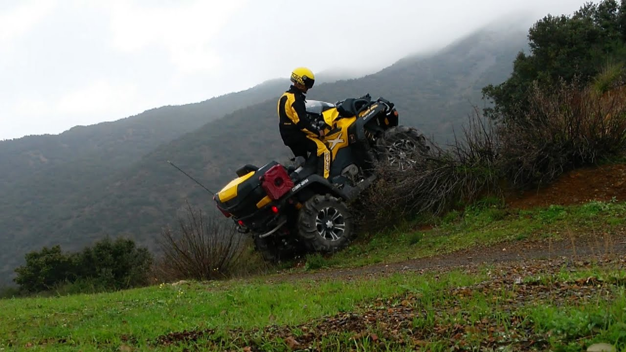 Can Am Outlander 1000 Xmr >> Quad Can Am xmr 1000 outlander brp algerie khellil part 02 - YouTube