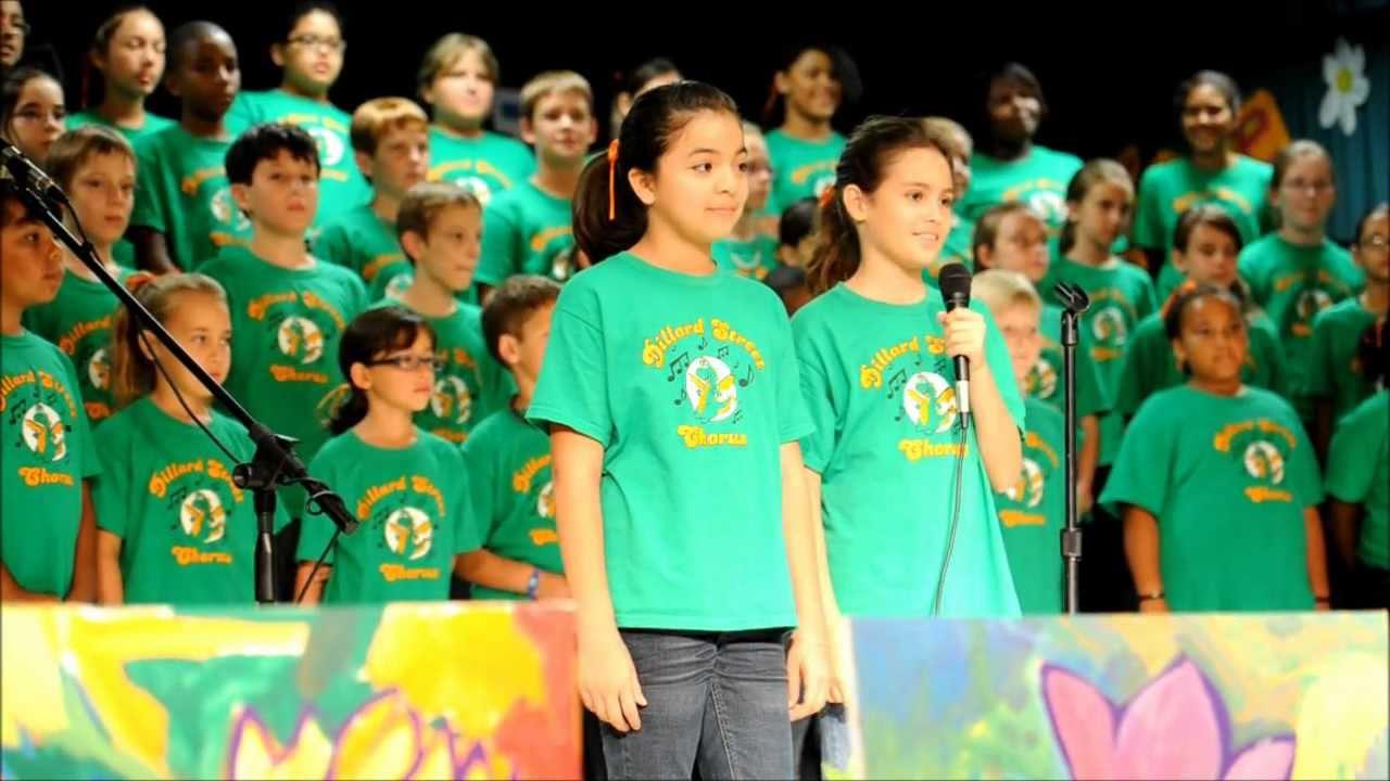 dillard street elementary chorus believe in yourself