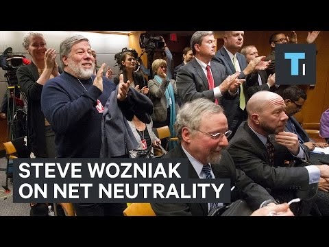 Here's what Steve Wozniak thinks of the net neutrality battle