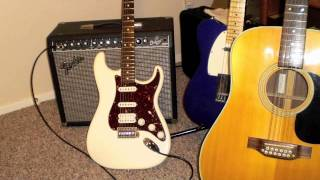 While My Guitar Gently Weeps Cover - George Harrison - Takamine 12 & Fender Strat