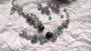 видео Авторские украшения из натуральных камней