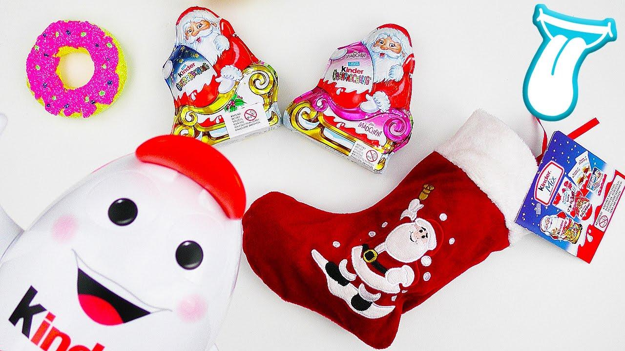 Kinderschokolade Weihnachten Strumpf MIX   Lohnt sich der KAUF ...