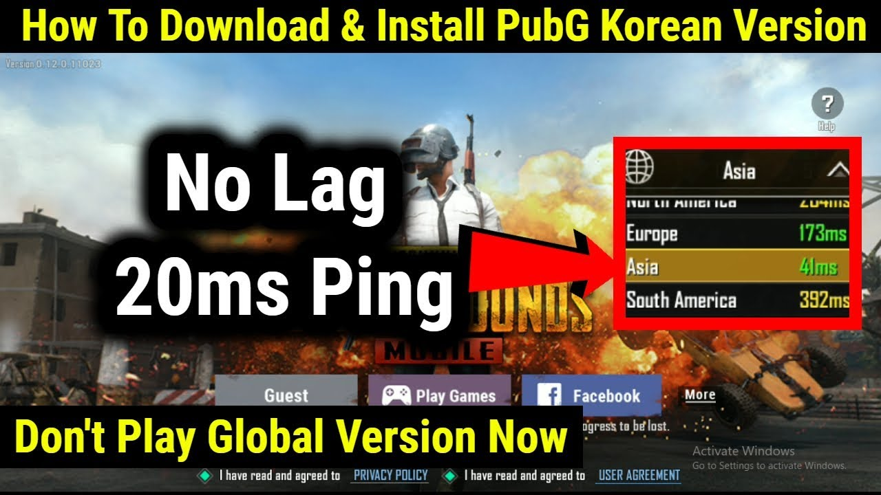 Pubg Korean Version Download Hack Pubg Mobile Korea