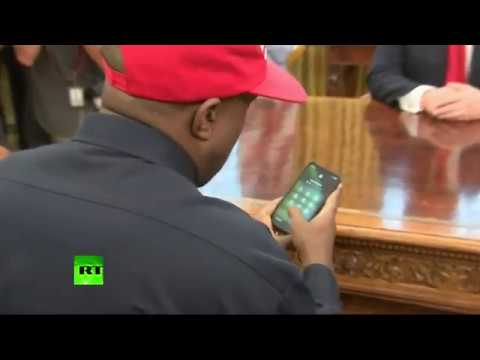 Brother Wease - Kanye West Reveals Phone Password During White House Visit