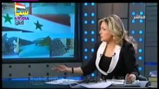 استقالة لونا الشبل من قناة الجزيرة وفضح سياسة القناة.mp4