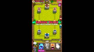 How to Win Sudden Death Challenge in Clash Royale