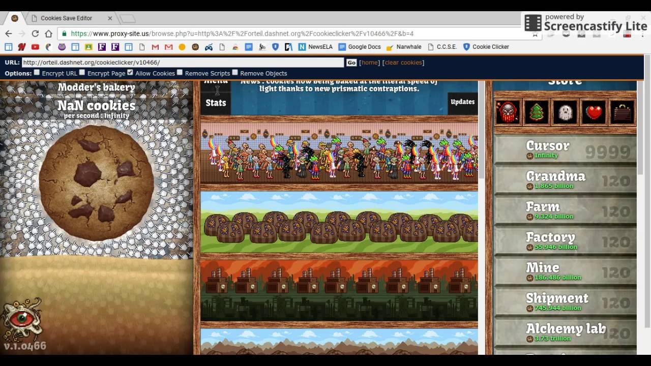 COOKIE CLICKER HACK!! (100% REAL! NO INSPECT REQUIRED!)