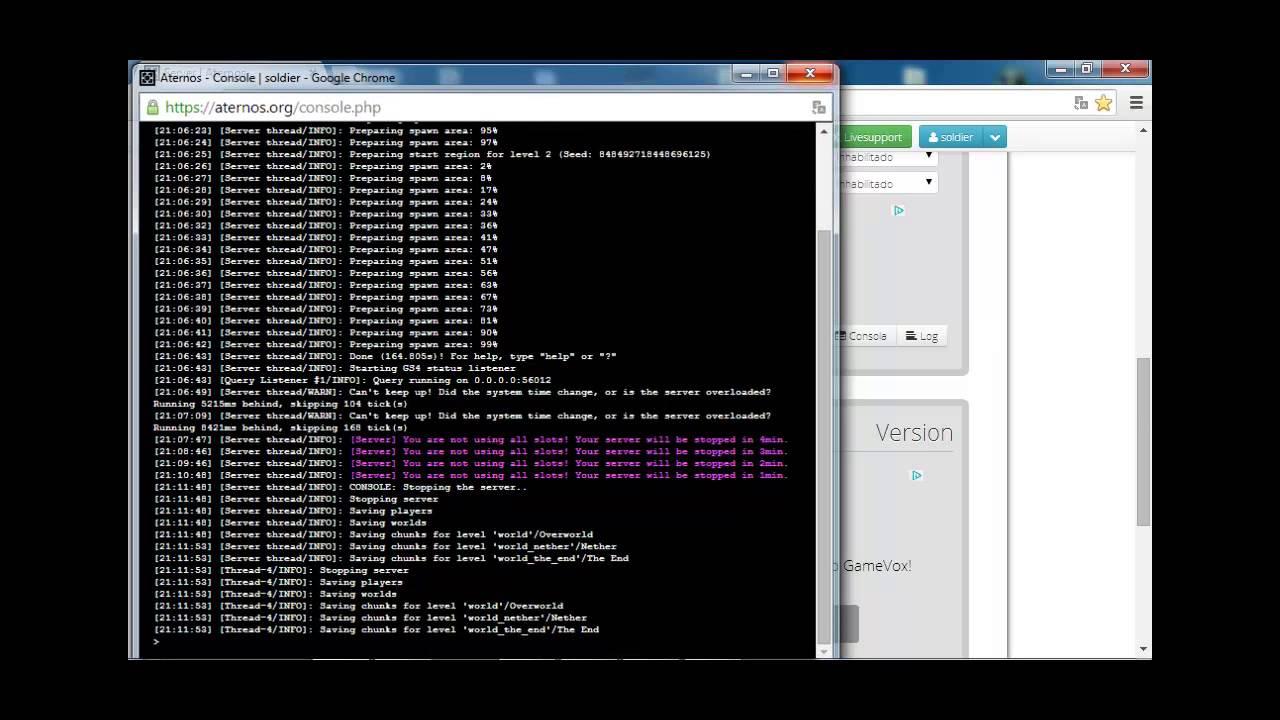 Tutorial de como hacer un Server en *[[ATERNOS]]* :s - YouTube