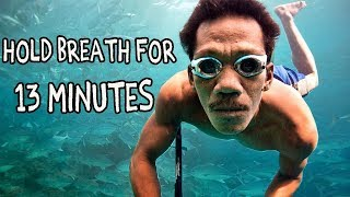 'SUPERHUMAN' Tribe Can Hold Breath for 13 MINUTES Underwater