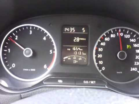 volkswagen polo 1.2 tdı bluemotıon 75 ps 90 km anlık yakıt