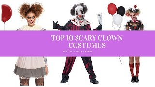 ✔️ TOP 10 BEST SCARY CLOWNS COSTUMES 🛒 Amazon 2019