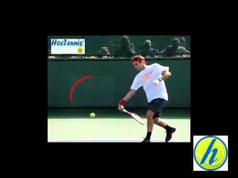 Học Tennis - Thuận tay của Federer - Hoctennis.net - 0963.221.048