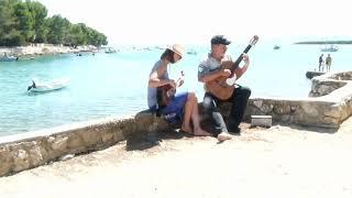 Manha de Carneval in Cres - Gitarrenmusik im Urlaub