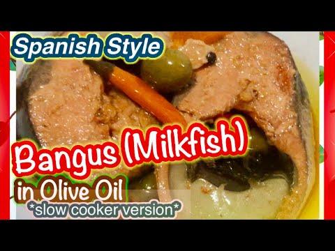 Spanish Style - Bangus/Milkfish In Olive Oil