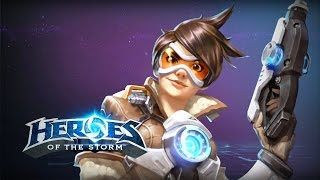 ♥ Heroes of the Storm (Gameplay) - Tracer, Aoe Melee (HoTs Quick Match)