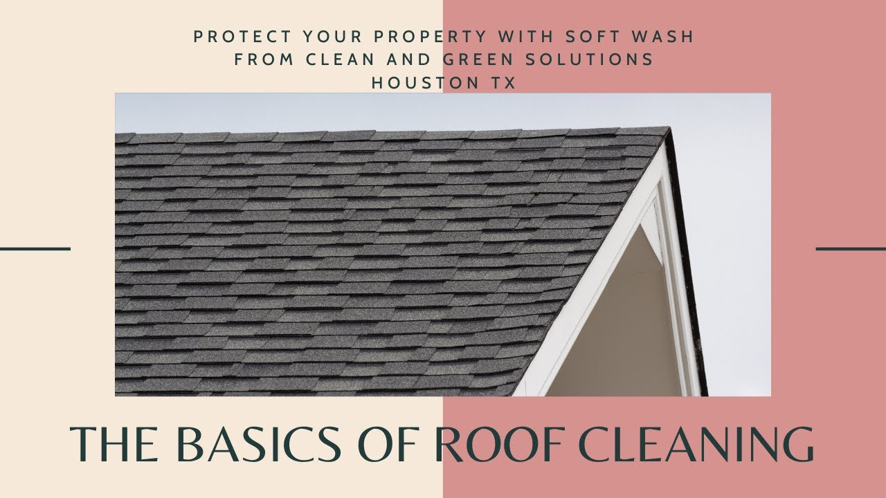 Soft Wash Roof Cleaning Houston Texas Youtube