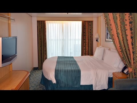 Royal Caribbean Freedom of the Seas Deluxe Ocean View Stateroom #6586 with Balcony (2/1/15)