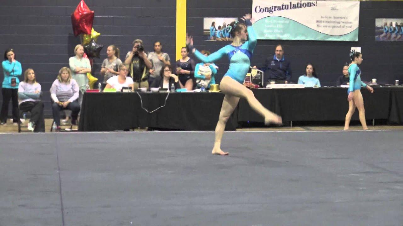 Katie Black Gym America L9 Floor 2016 Wolverine Classic Youtube