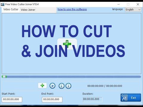 How to Cut & Join Videos