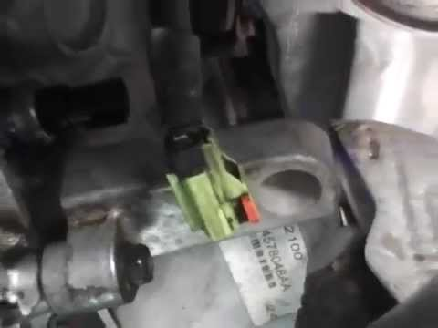 Dodge Magnum oil pressure switch/oil pressure light - YouTube