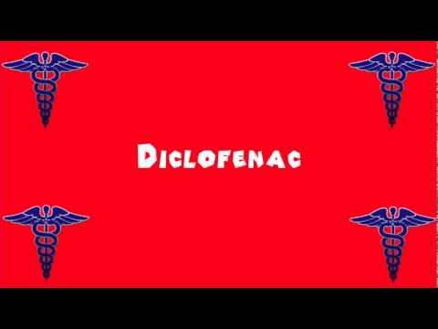 Pronounce Medical Words ― Diclofenac