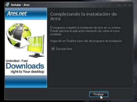 Descargar ares 3 1 5 gratis en espa ol full youtube for Descarga are