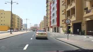 Driving my car in Al Nahda 2 Dubai. 27.05.2013