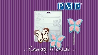How to Make .: Chocolate Lollipops using PME Candy Moulds