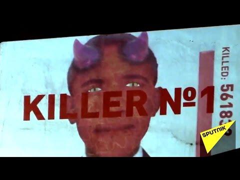'Obama Killer No.1': Activist Video Slams US President