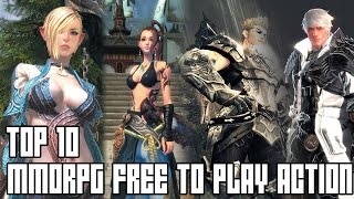 TOP 10 MMORPG ACTION FREE TO PLAY 2015 (FR)