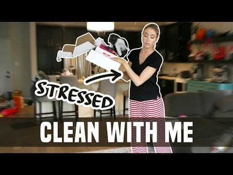 SPEED CLEAN MY HOUSE WITH ME || coping with stress