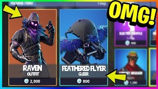 RAVEN SKIN IS COMING to FORTNITE TODAY! (Fortnite Battle Royale)