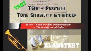 TEST TSE Tone Stability Enhancer Klangverstärker für Trompete-Tuba Brass