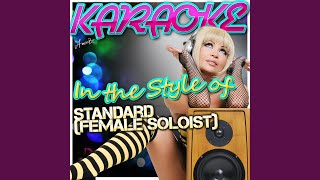 Beyond the Sea (In the Style of Standard (Female Soloist) (Karaoke Version)