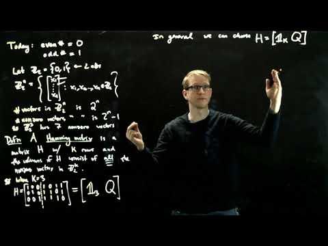 linear-algebra---hamming's-error-correcting-codes---01---hamming-matrices