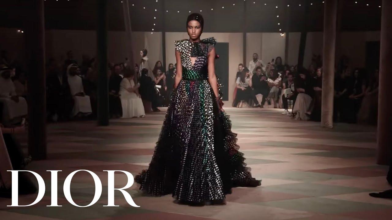 53063b2b Show Diary - Dior Spring-Summer 2019 Haute Couture show in Dubai. Christian  Dior